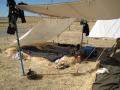 Feldlager in Spanien